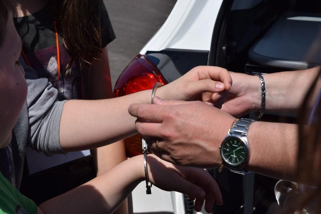 police, emergency, handcuffs